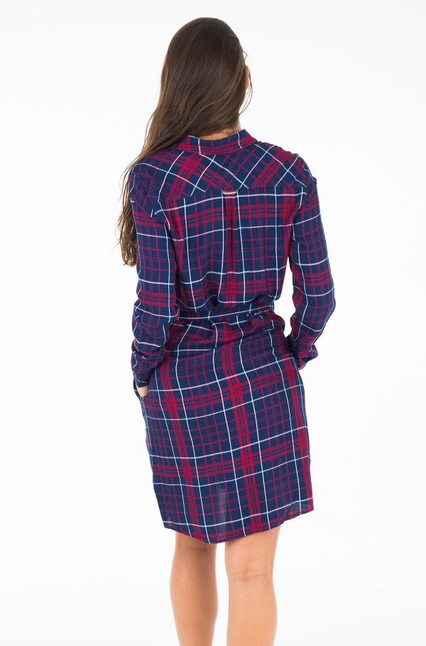 THDW CHECK SHIRT DRESS L/S 19-hover