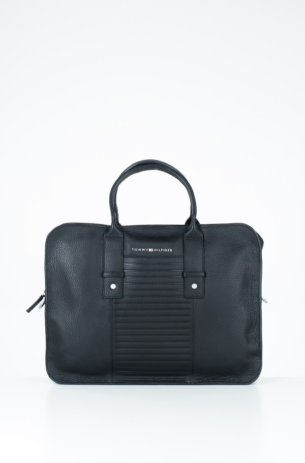 TAILORED LEATHER COMPUTER BAG