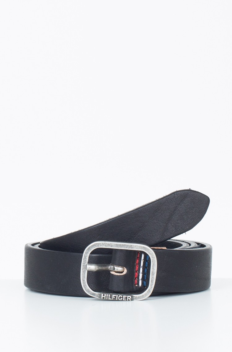 Oval Buckle Leather Belt - Sales Up to -50% Tommy Hilfiger ueqP0lAXA
