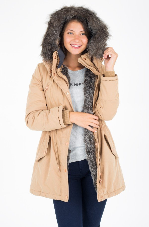 OTTALINE PADDED FUR LINED HOODED PARKA
