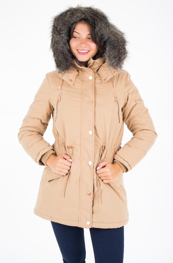 OTTALINE PADDED FUR LINED HOODED PARKA-hover