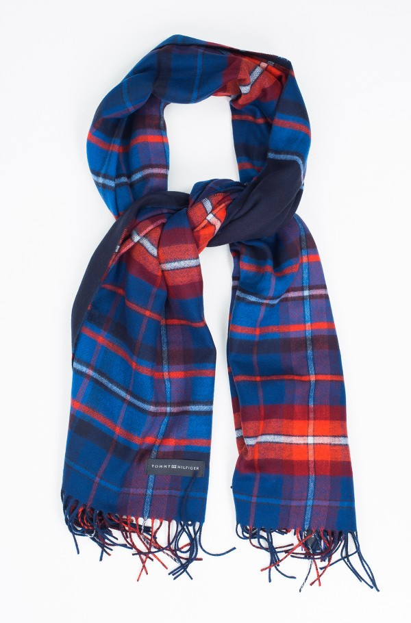 ASYMETRIC CHECK SCARF