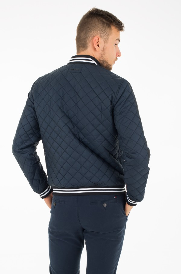 OBAS QUILTED BOMBER-hover