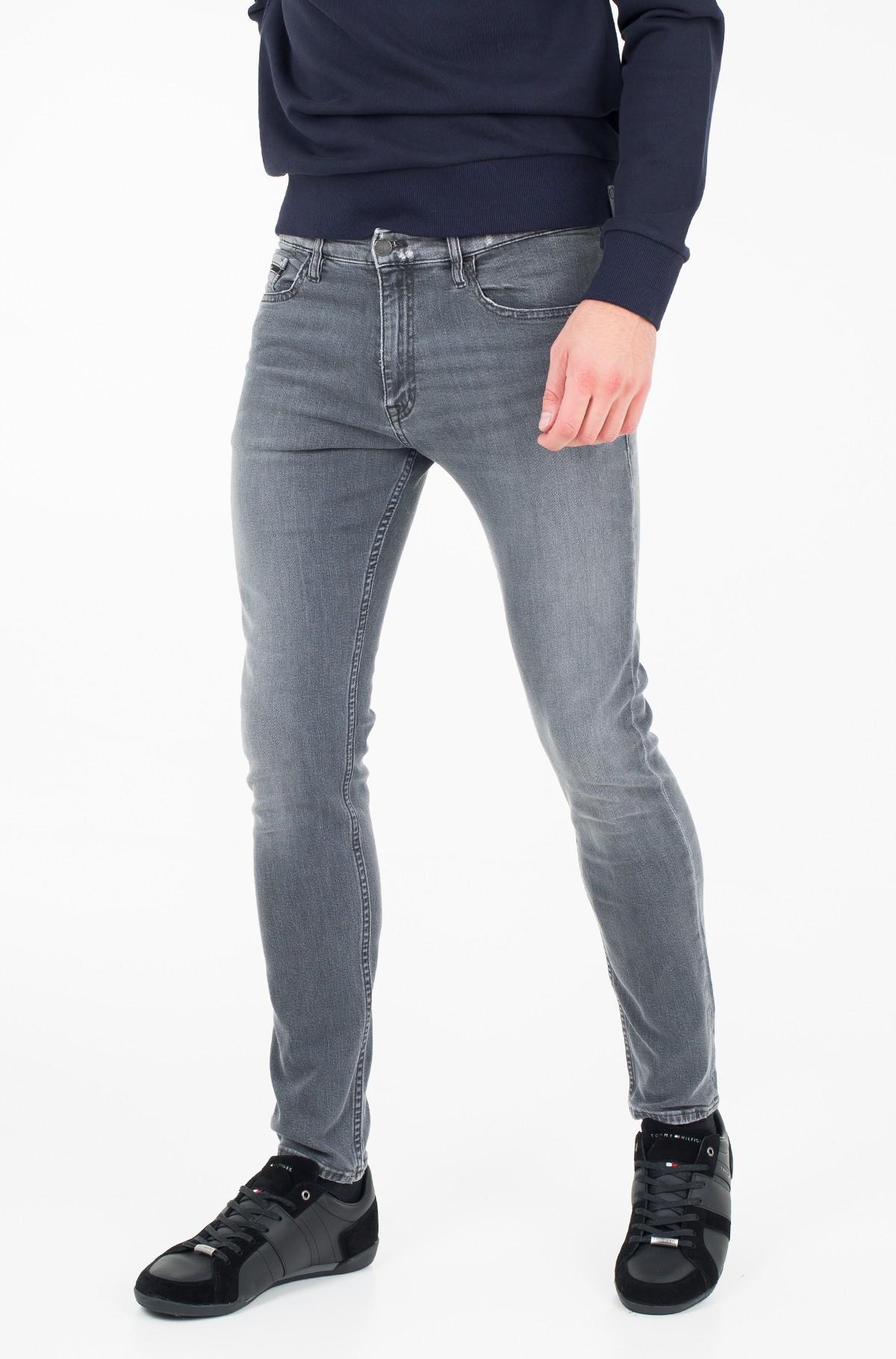Džinsinės kelnės Skinny - Battle Grey-full-1
