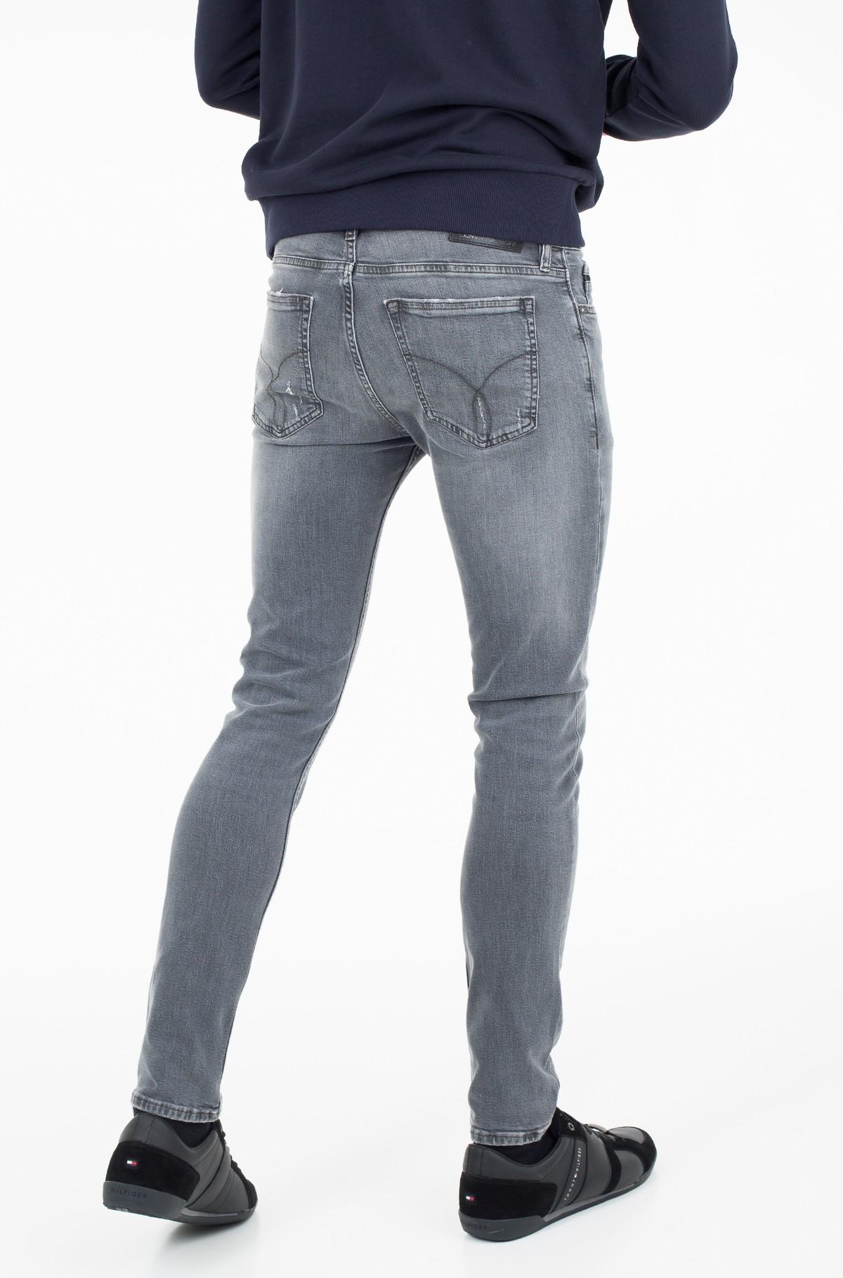 Džinsinės kelnės Skinny - Battle Grey-full-2