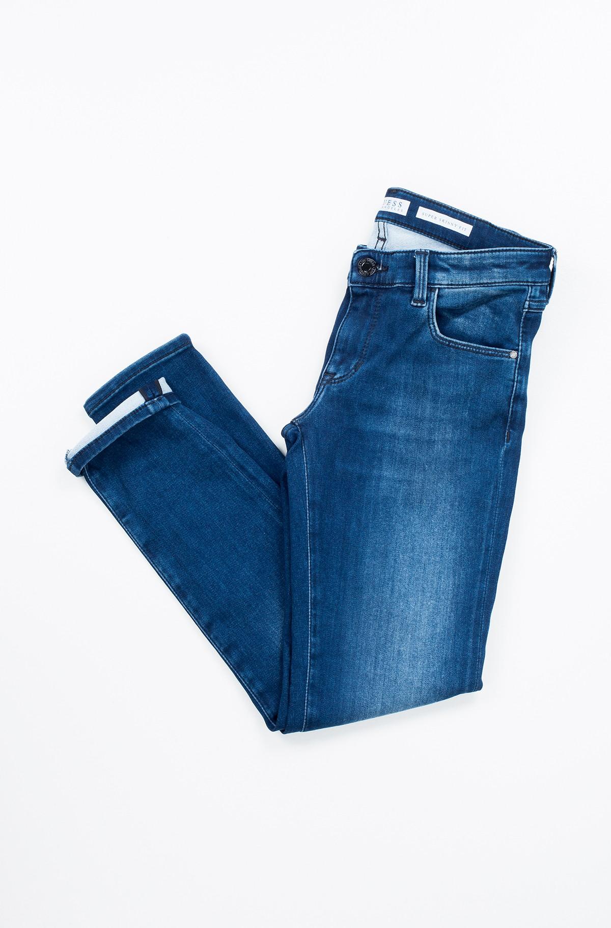 Vaikiškos džinsinės kelnės J74A09 D2R70-full-1