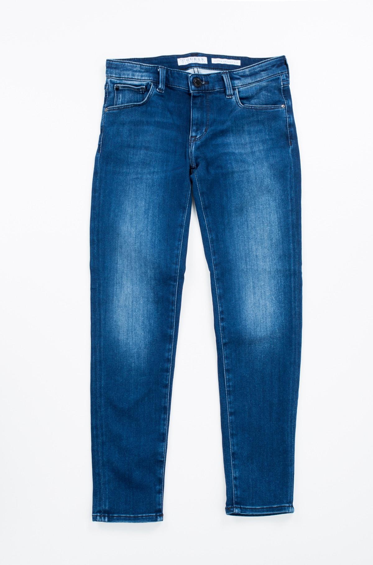 Vaikiškos džinsinės kelnės J74A09 D2R70-full-2