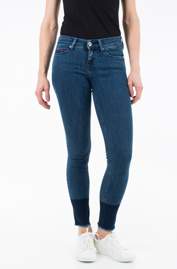 MID RISE SKINNY NORA 7/8 TWTOBST