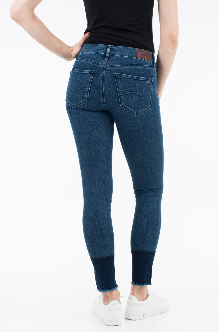 d4cd3c77 sini Jeans Mid Rise Skinny Nora 7/8 Twtobst Tommy Hilfiger, Womens ...