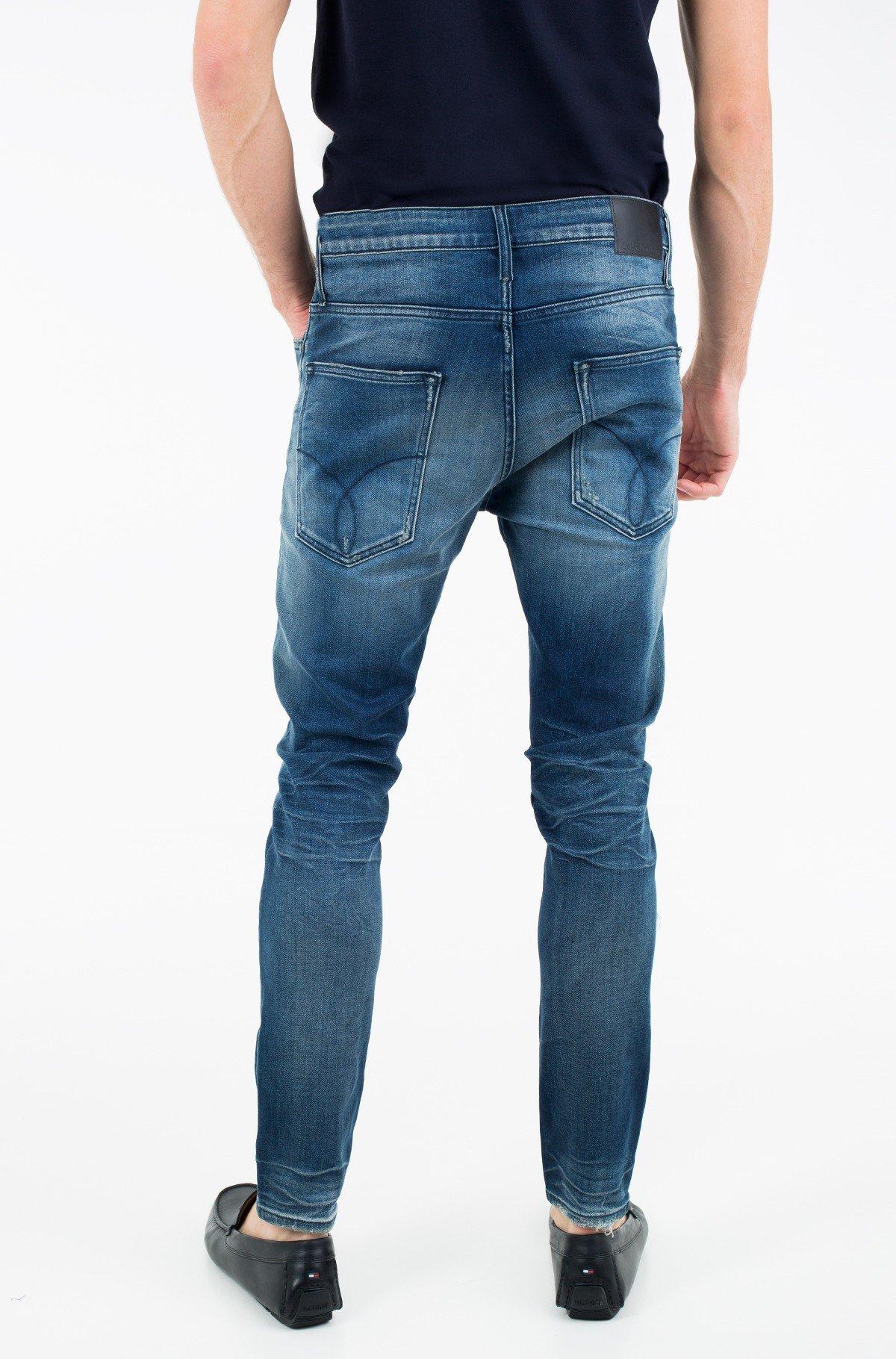 Teksapüksid Skinny Taper - Milano Blue Destructed-full-2