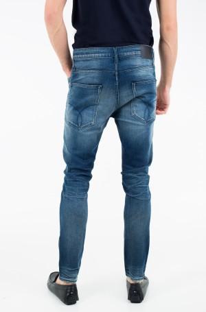 Teksapüksid Skinny Taper - Milano Blue Destructed-2