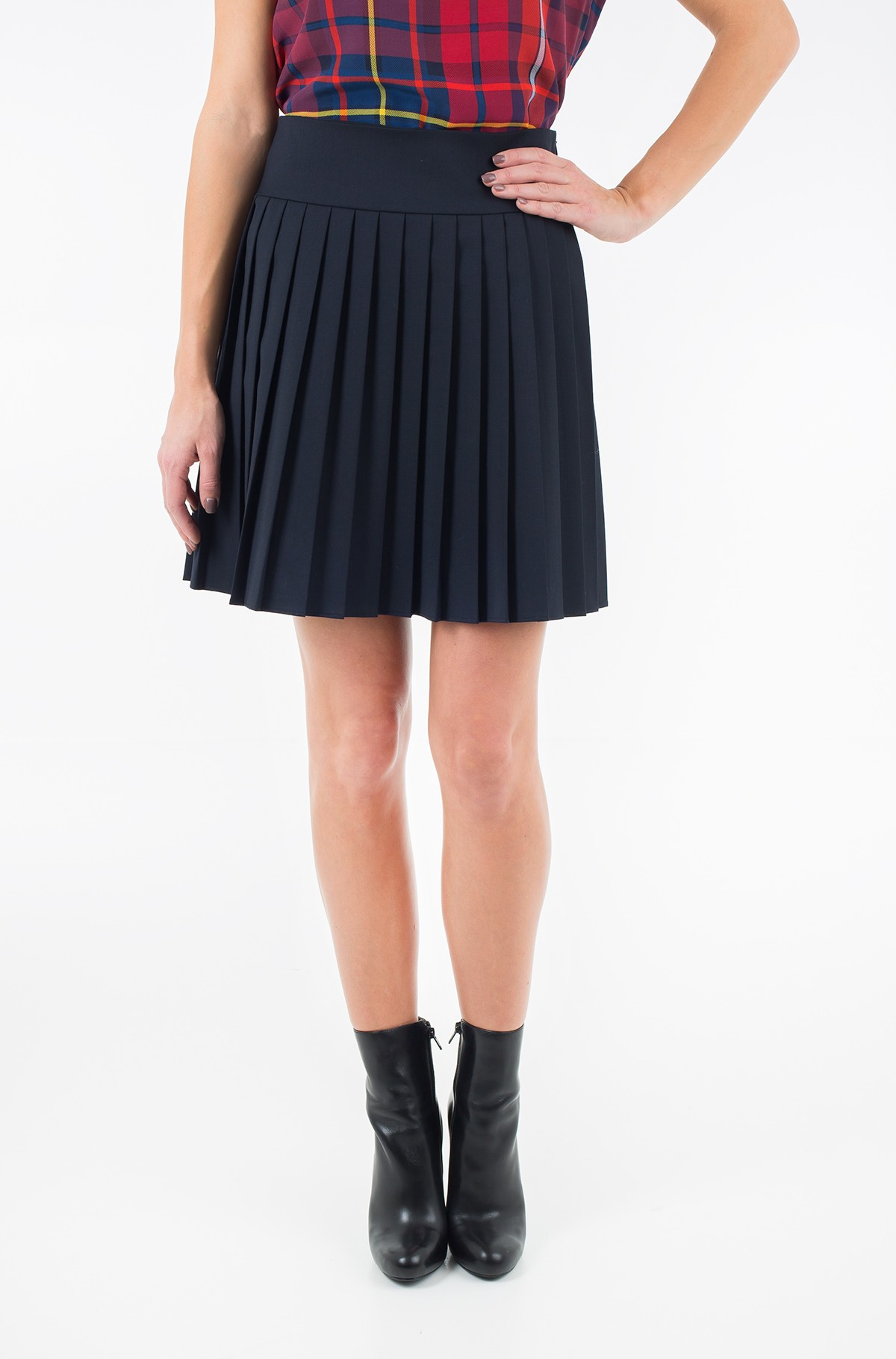 Skirt Lean Pleated -full-1