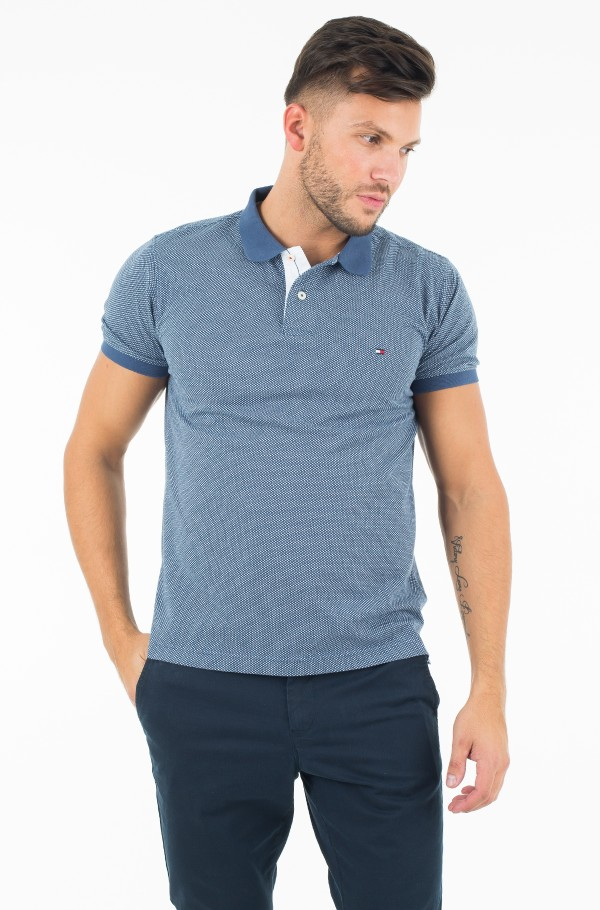 WCC CROSS HATCH PRT POLO S/S SF