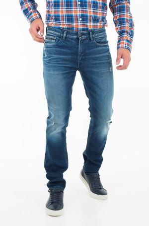 Jeans Slim Straight - Milano Blue Destructed-1