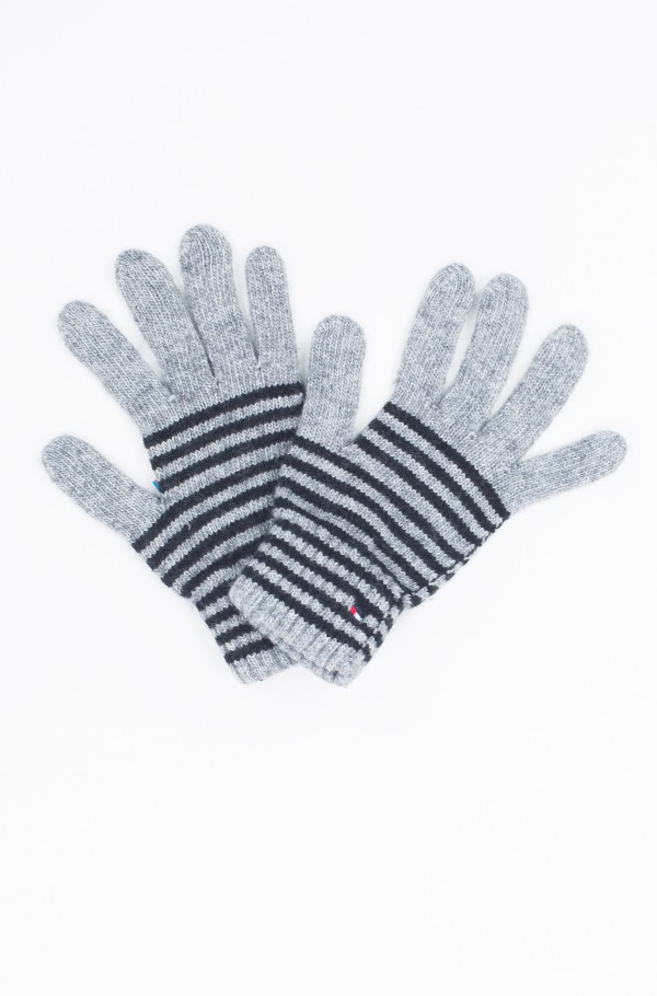 TOMMY STRIPES GLOVES
