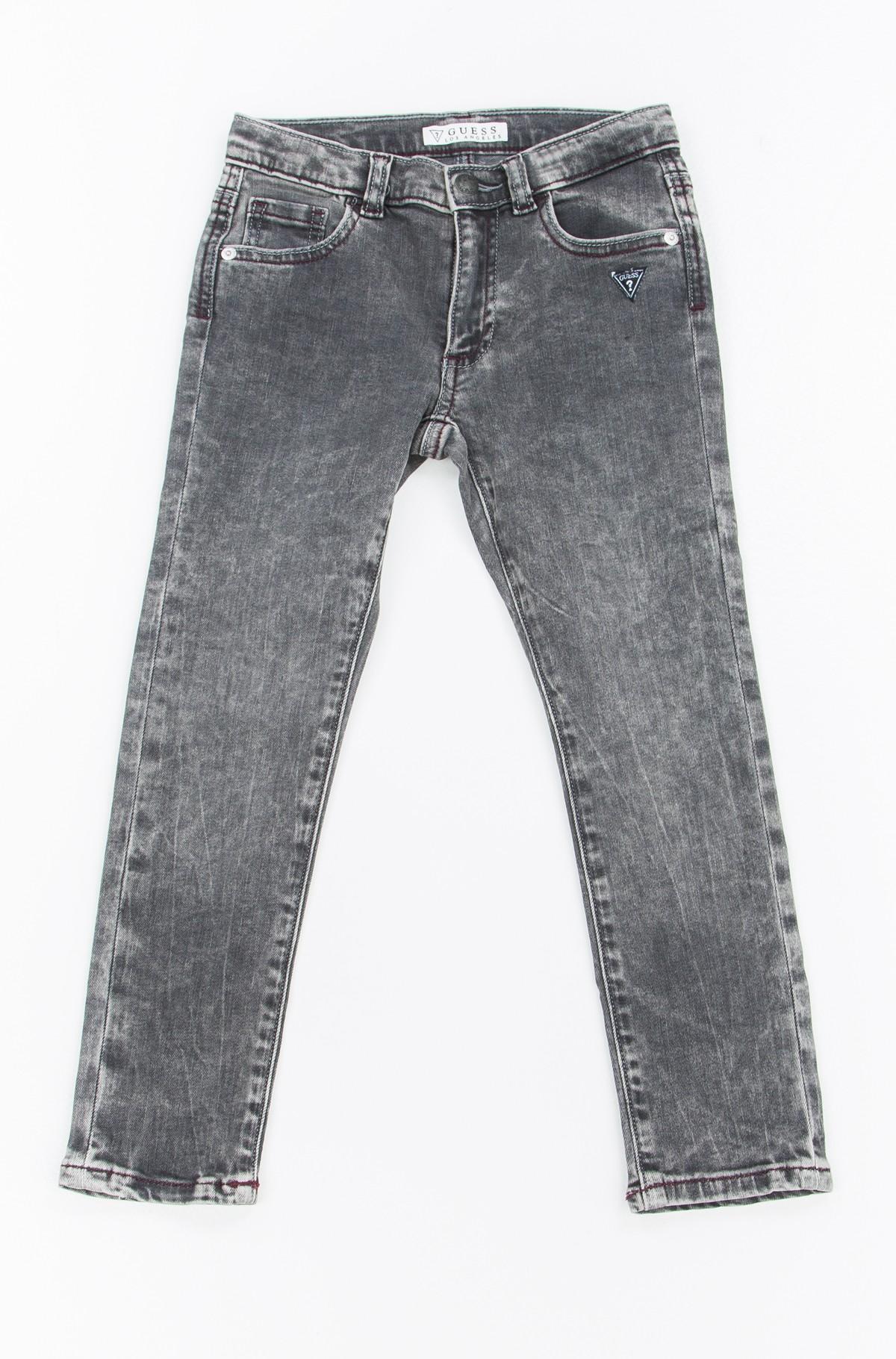 Vaikiškos džinsinės kelnės N74A01-full-1