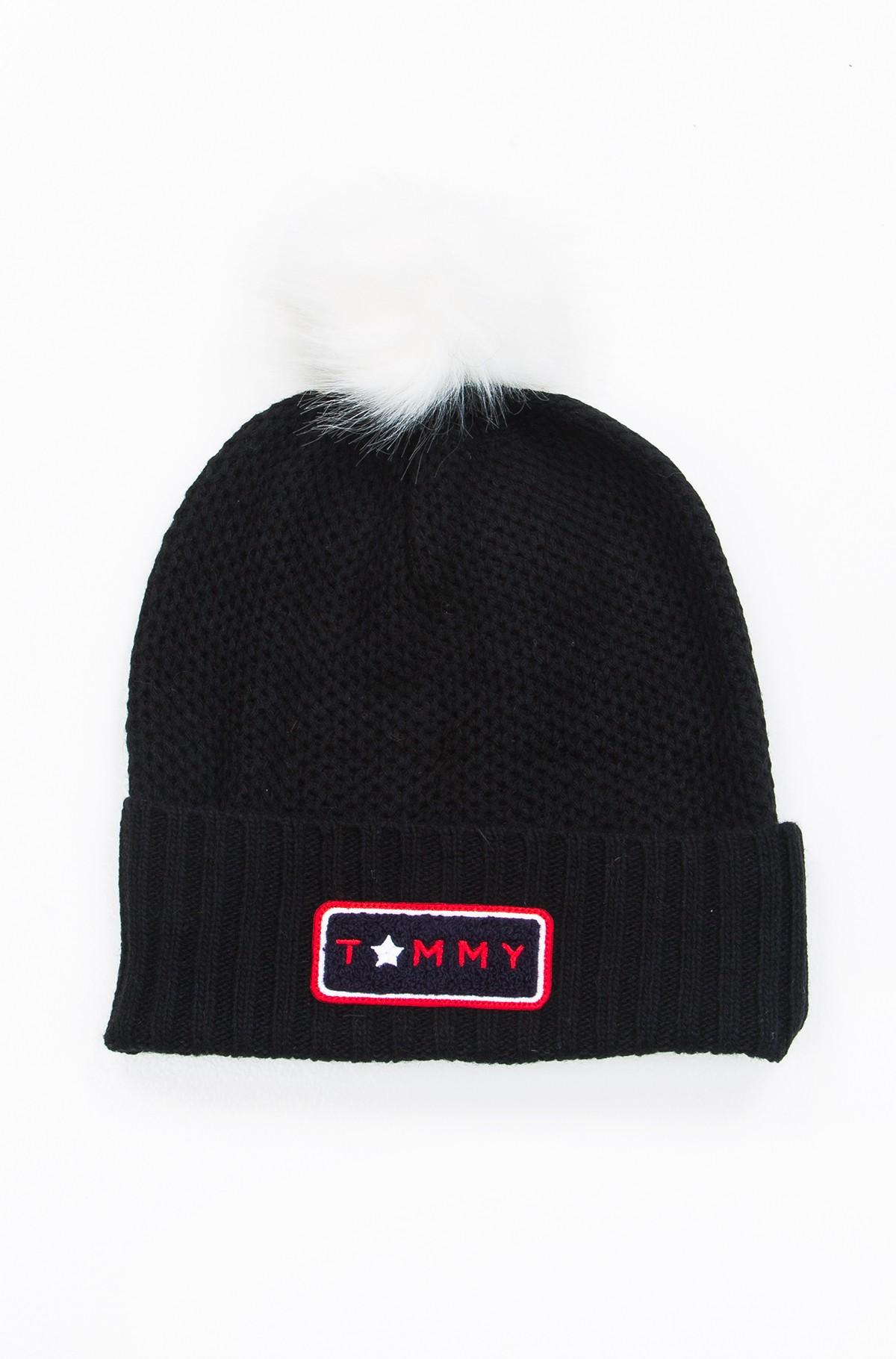Müts Fur Pompom-full-1