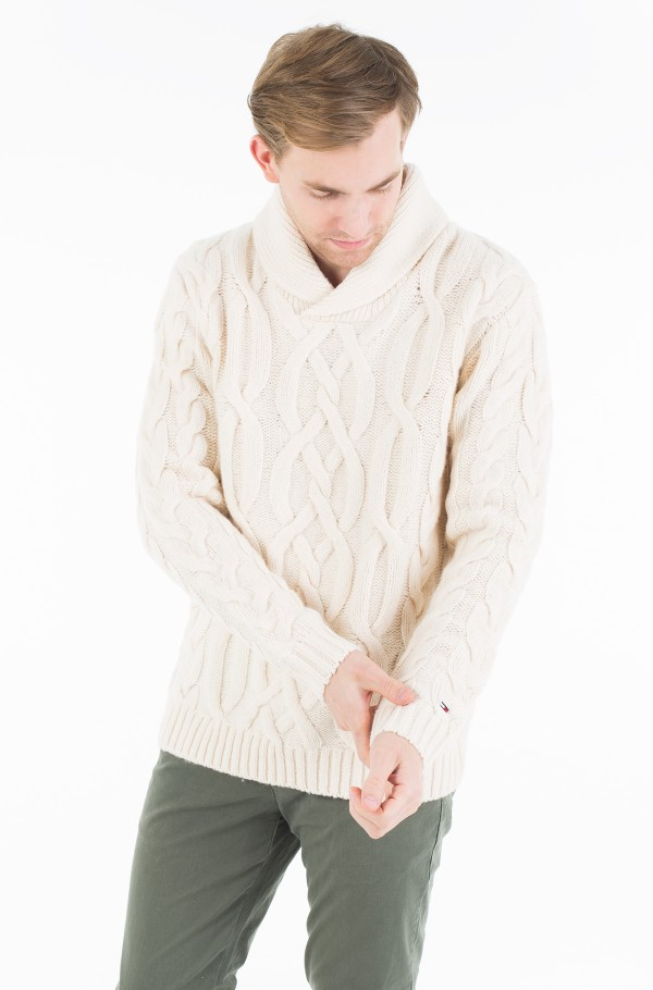 THDM CABLE SN SWEATER 45