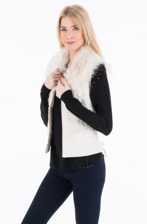 Furry vest W7322J MF069-1