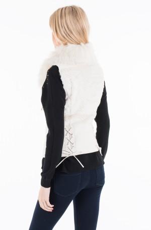 Furry vest W7322J MF069-2