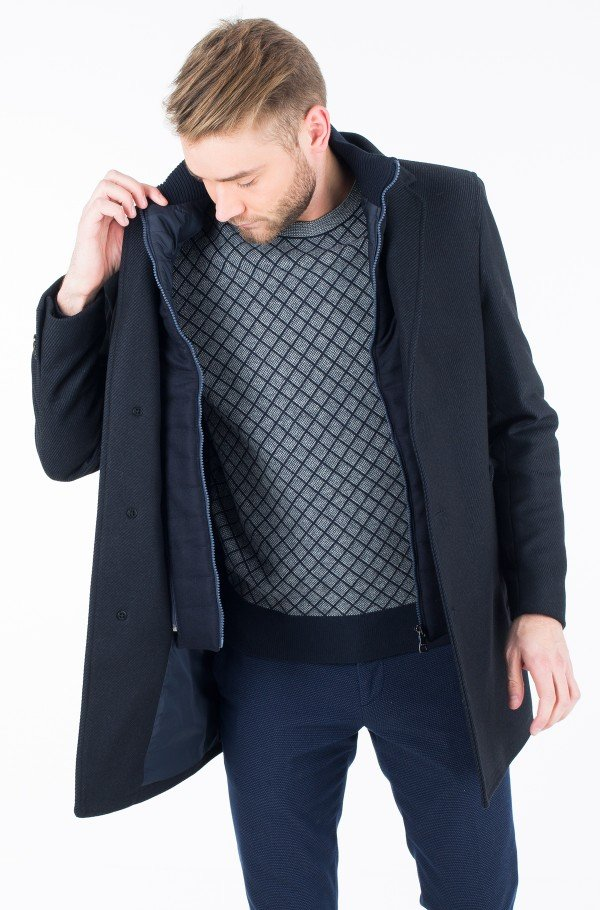 CHASE TWILL COAT-hover