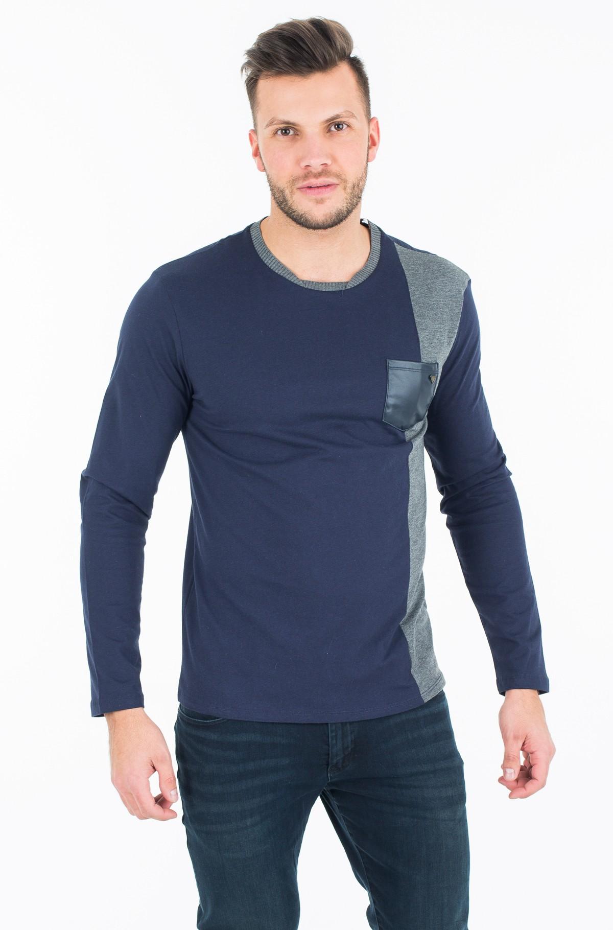 T-krekls ar garām piedurknēm  M74P02 K7BA0-full-1