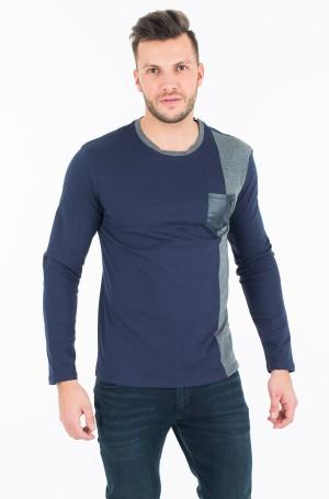 T-krekls ar garām piedurknēm  M74P02 K7BA0-1