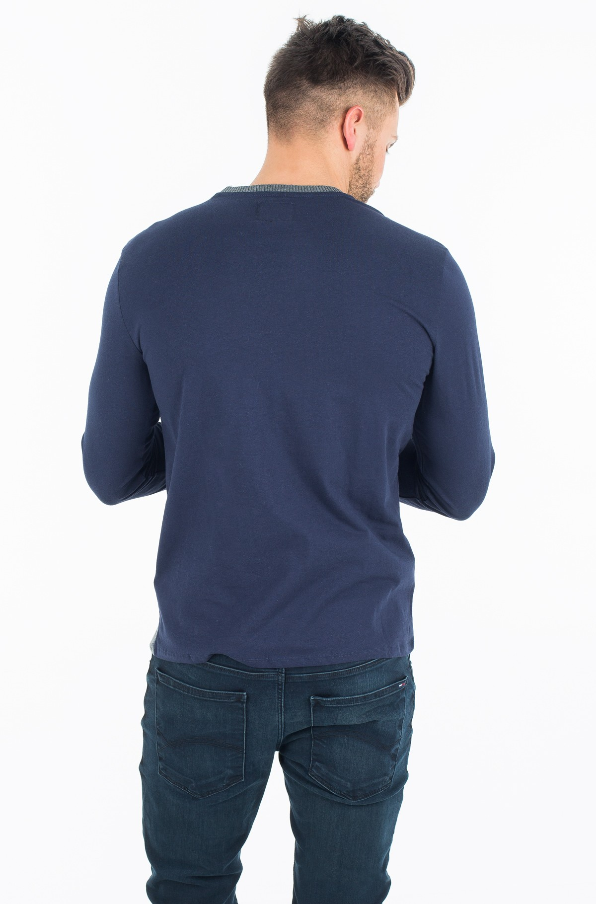 T-krekls ar garām piedurknēm  M74P02 K7BA0-full-2