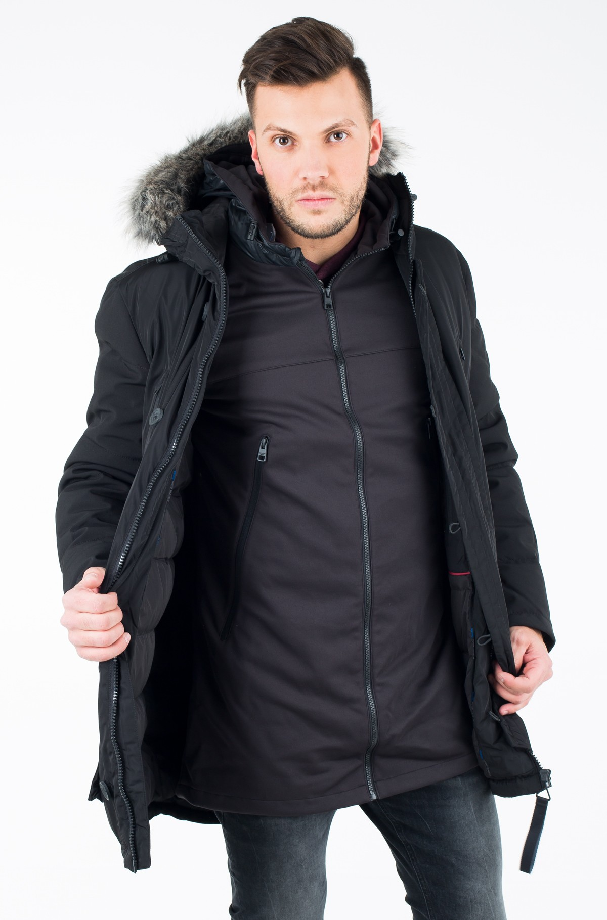Parka Okid Hd 2-in1 Mm Down Parka-full-1