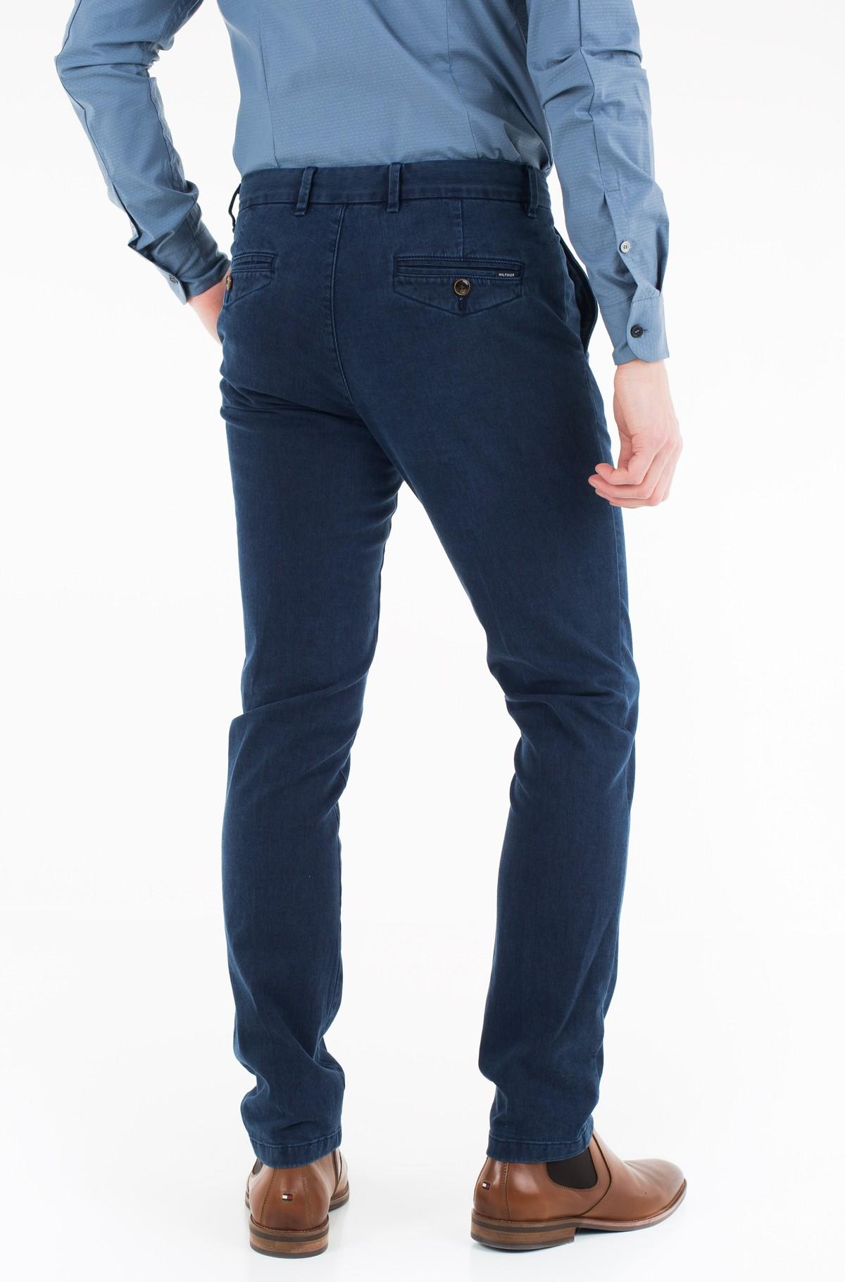 Trousers Denton Chino Stripe Sulphur Dye-full-2