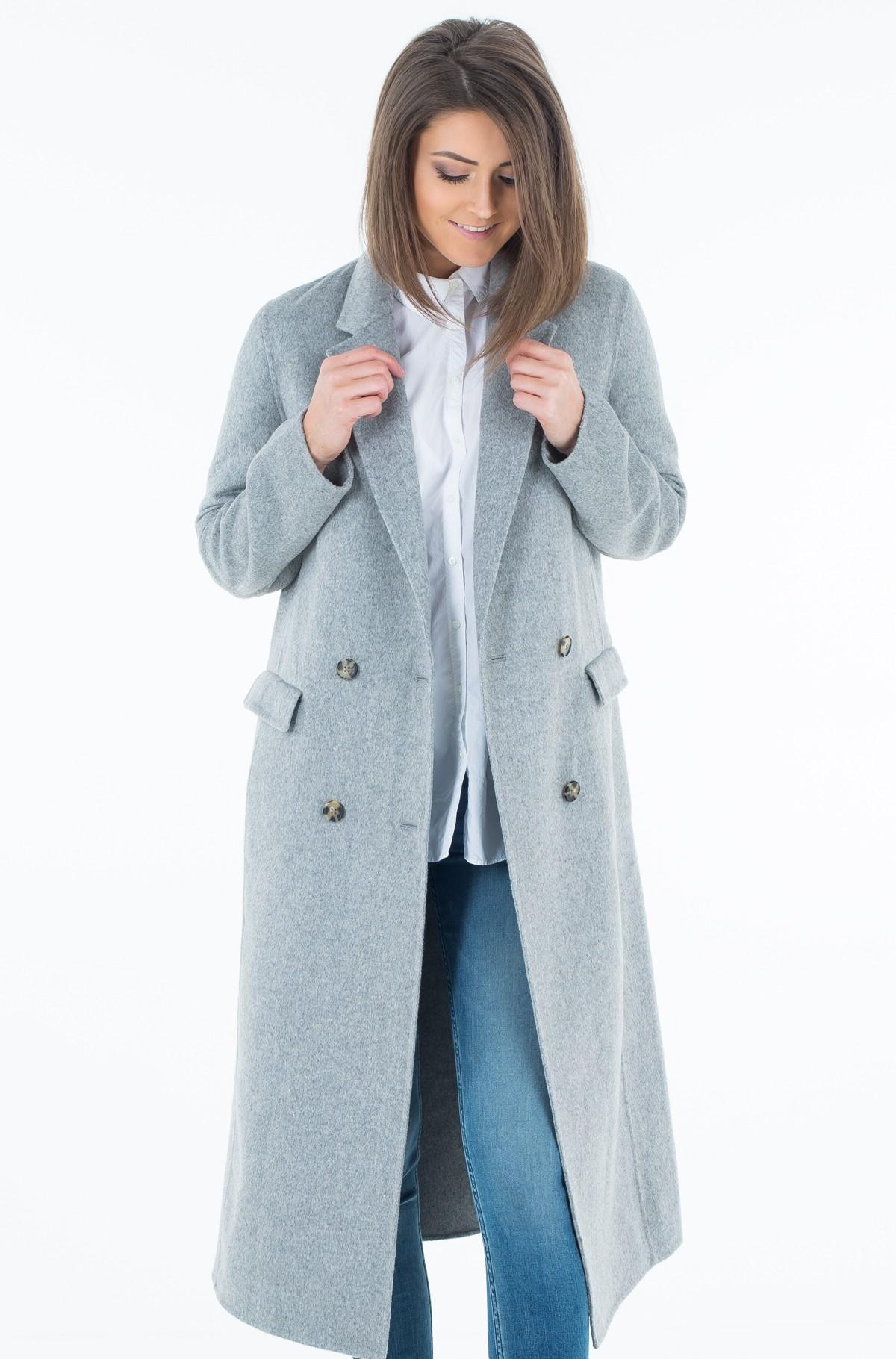 Mantel Ivo Long Df Wool  Coat-full-1