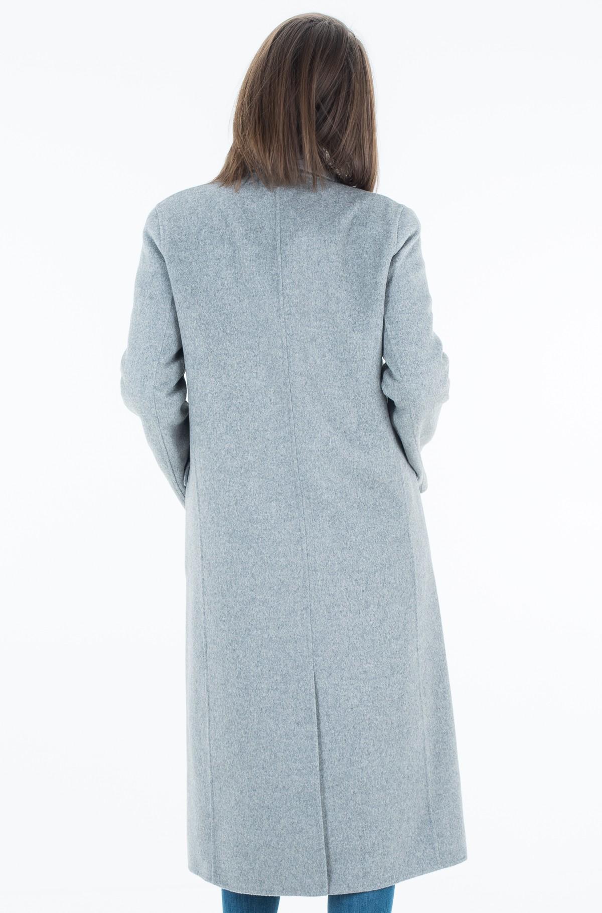 Mantel Ivo Long Df Wool  Coat-full-3