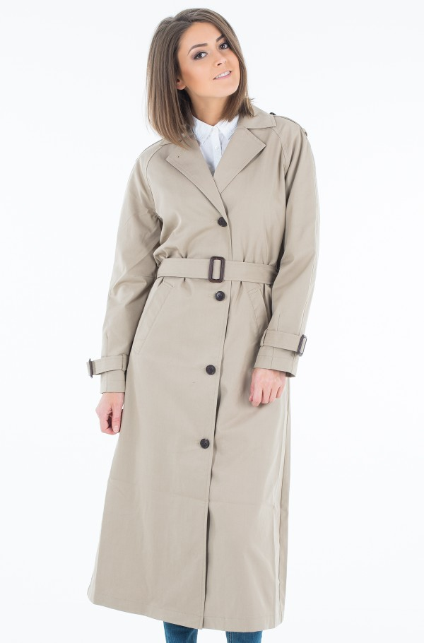 OAK LONG TRENCH-hover