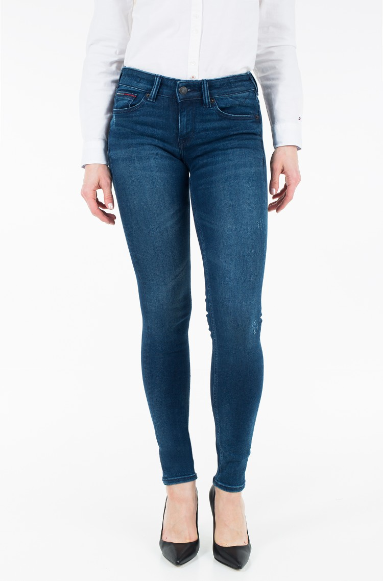 3037ceb8 sini Jeans LOW RISE SKINNY SOPHIE DYGRDBST Tommy Hilfiger, Womens ...
