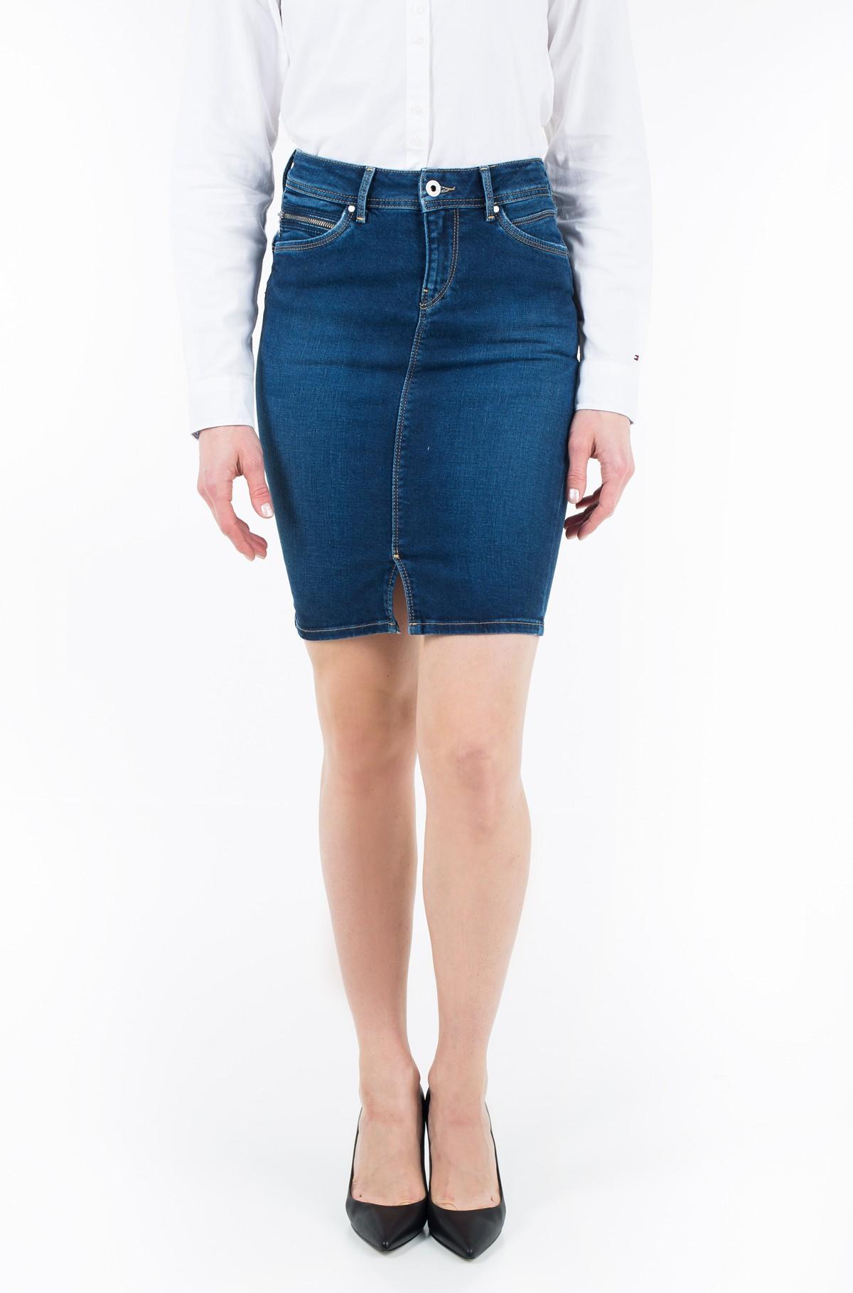 Denim skirt  TAYLOR/PL900443CE3-full-1