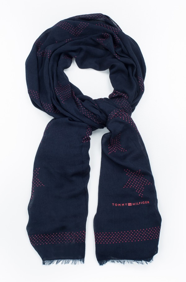 TOMMY POP EDGE SCARF