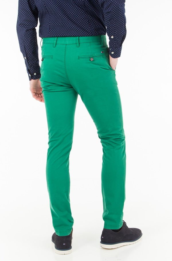 BLEECKER CHINO ORG STR TWILL-hover