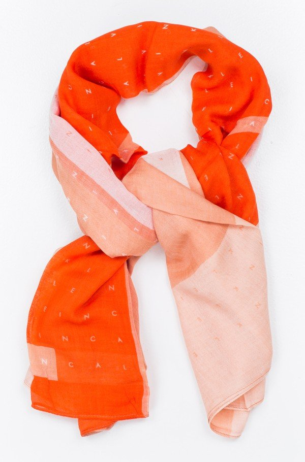 SEASONAL LOGO PRINT SCARF