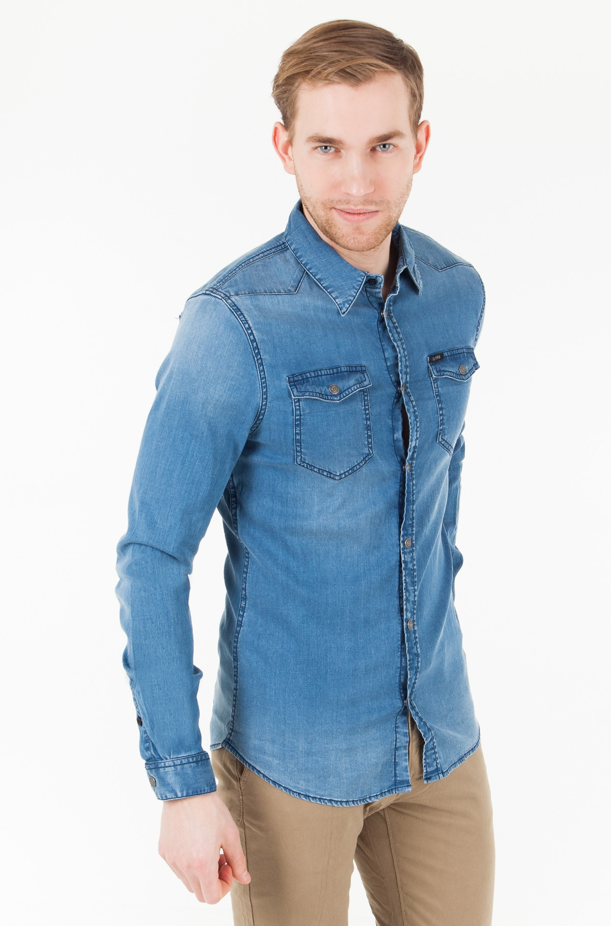 Džinsiniai marškiniai M81H02 D2Z20-full-1