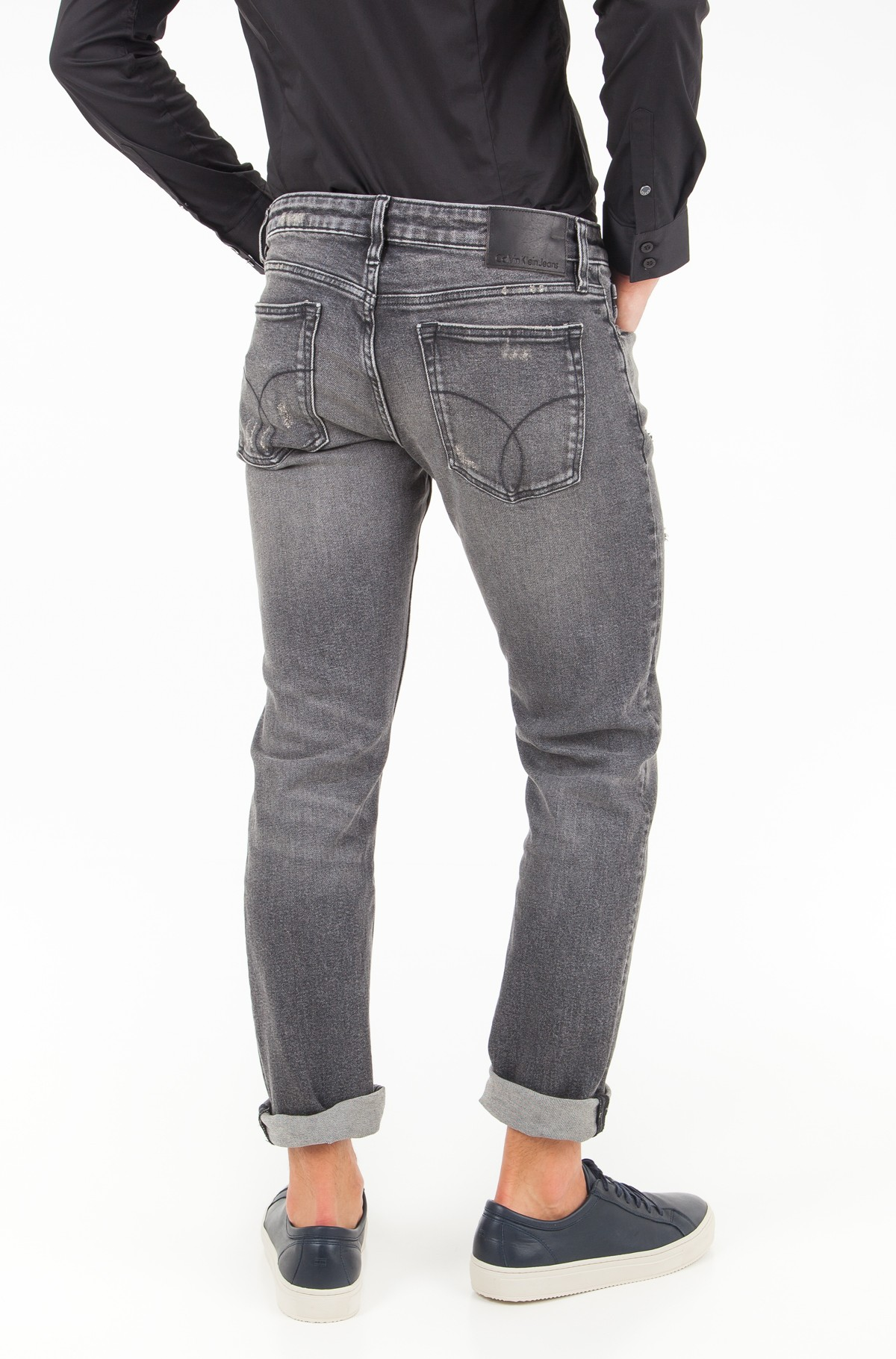 Jeans Slim Straight - Cavern Destructed-full-2