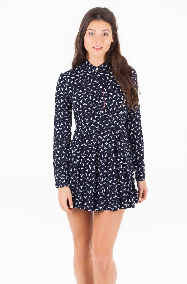 TJW SHIRT DRESS L/S 17