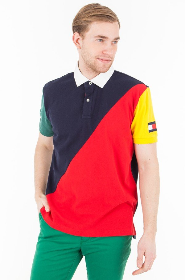 AIDEN BLOCKING POLO S/S RF