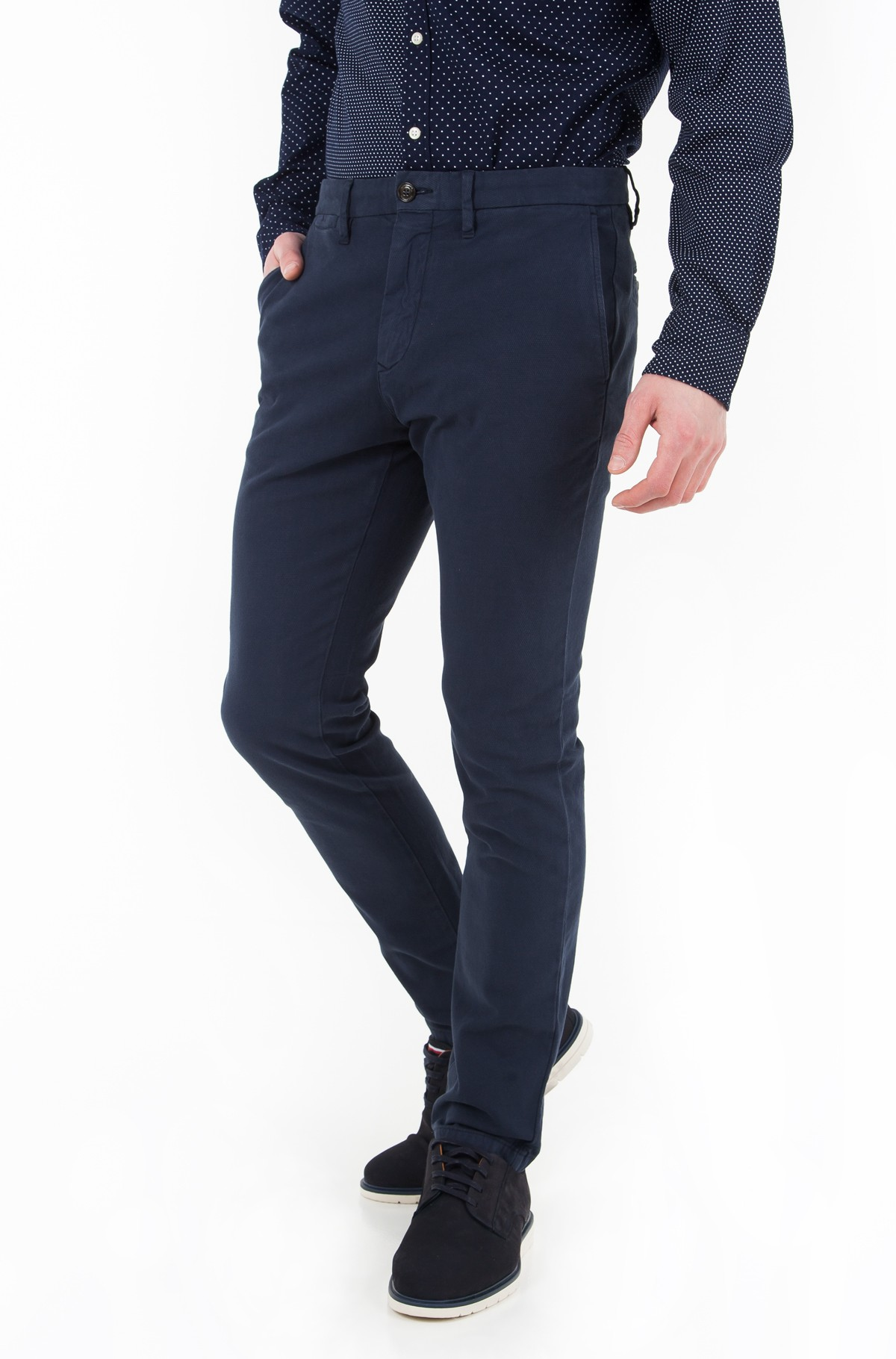 Trousers Bleecker Chino Dobby Strctre Gmd-full-1
