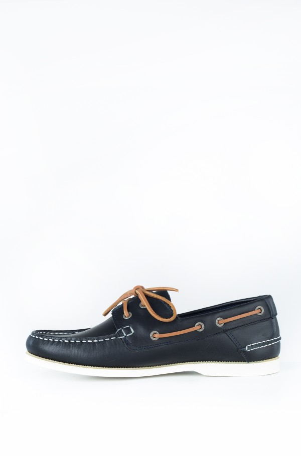 CLASSIC LEATHER BOATSHOE-hover