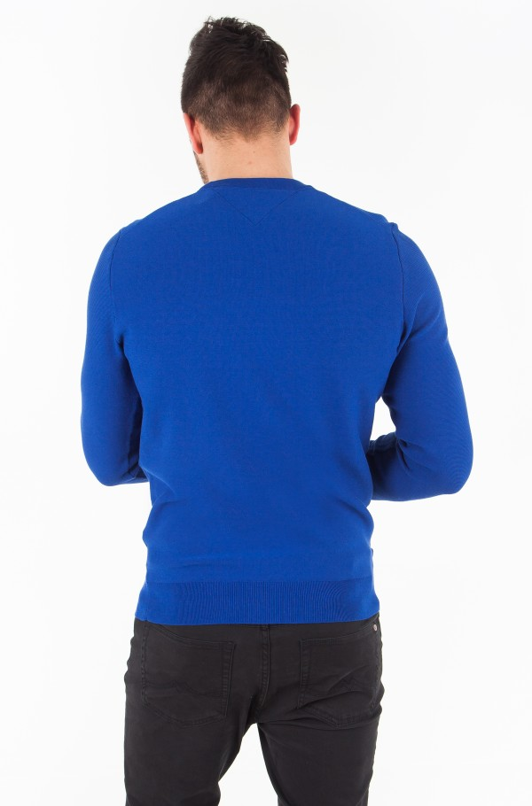 PERFORMANCE COTTON TEXTURED CNECK-hover