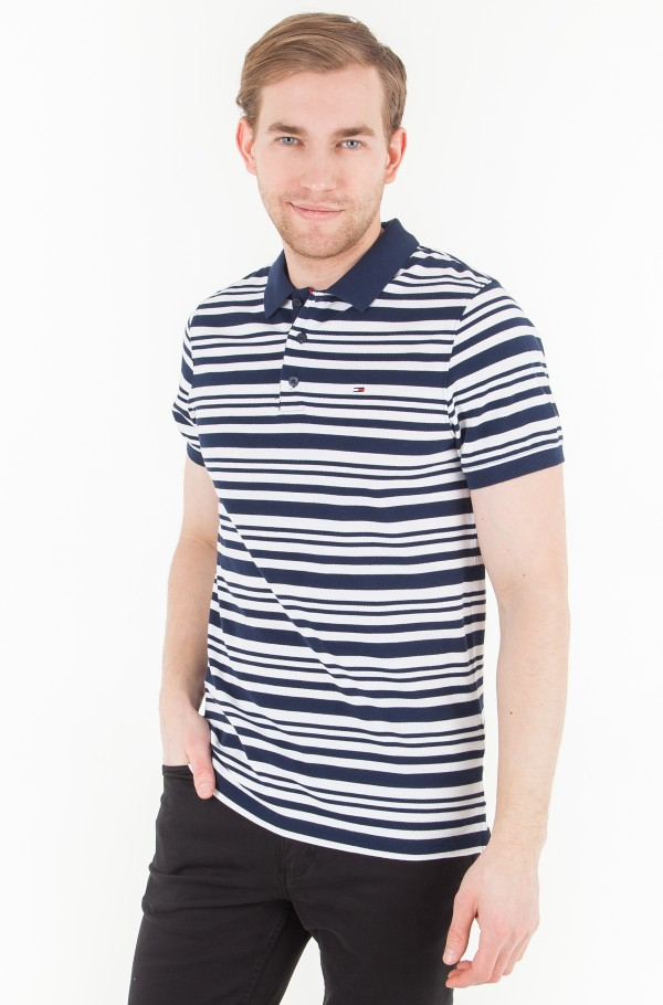 TJM ESSENTIAL STRIPE POLO