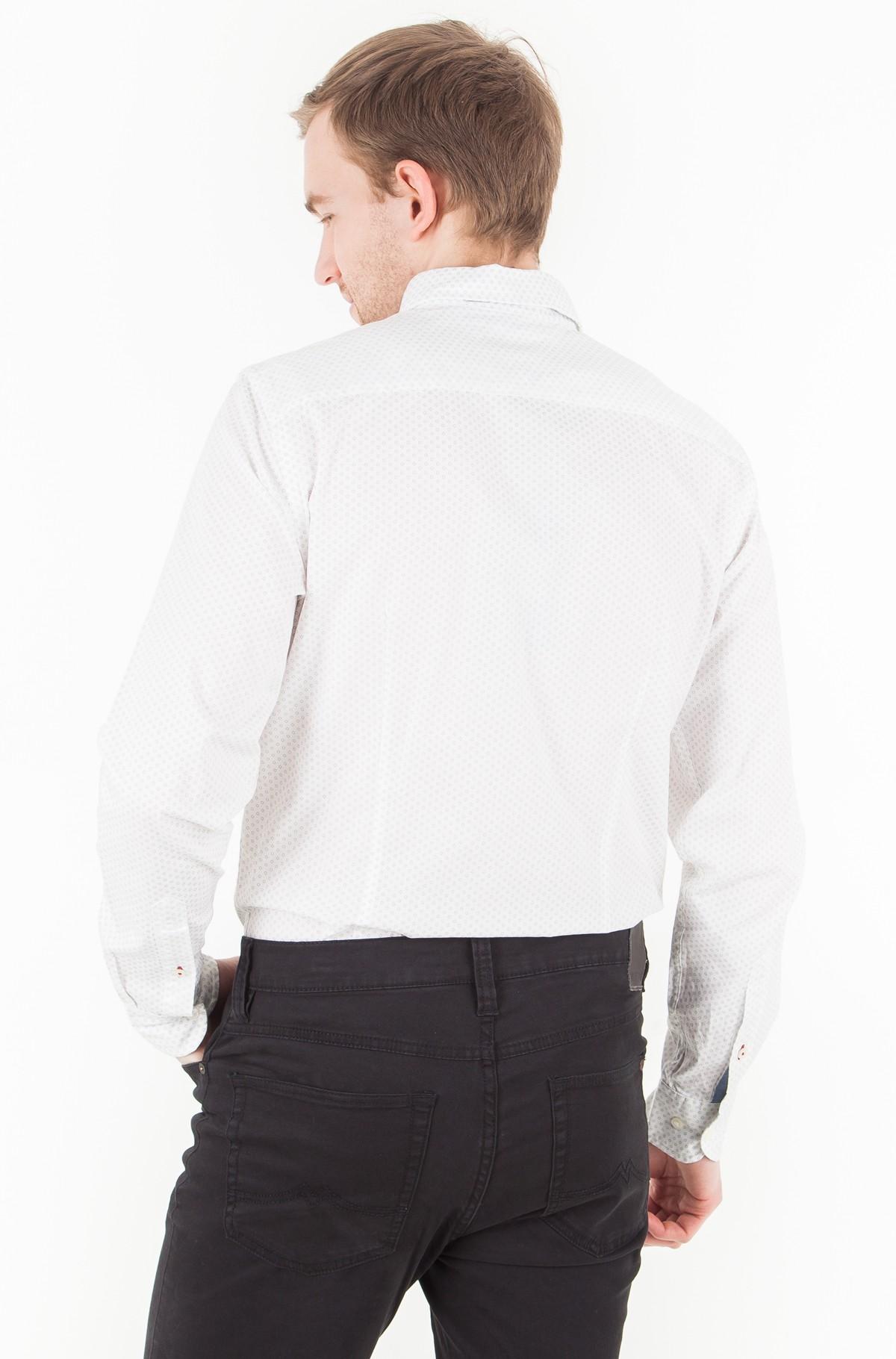 Marškiniai Slim Micro Flower Print Shirt-full-2