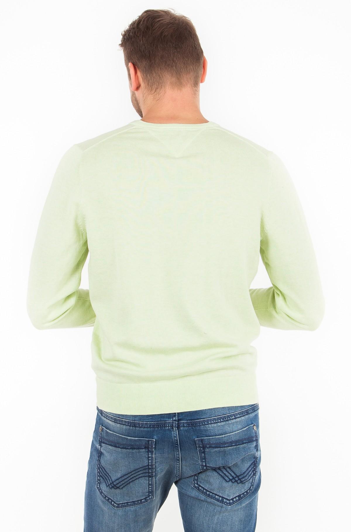 Džemperis Cotton Silk Vneck-full-2