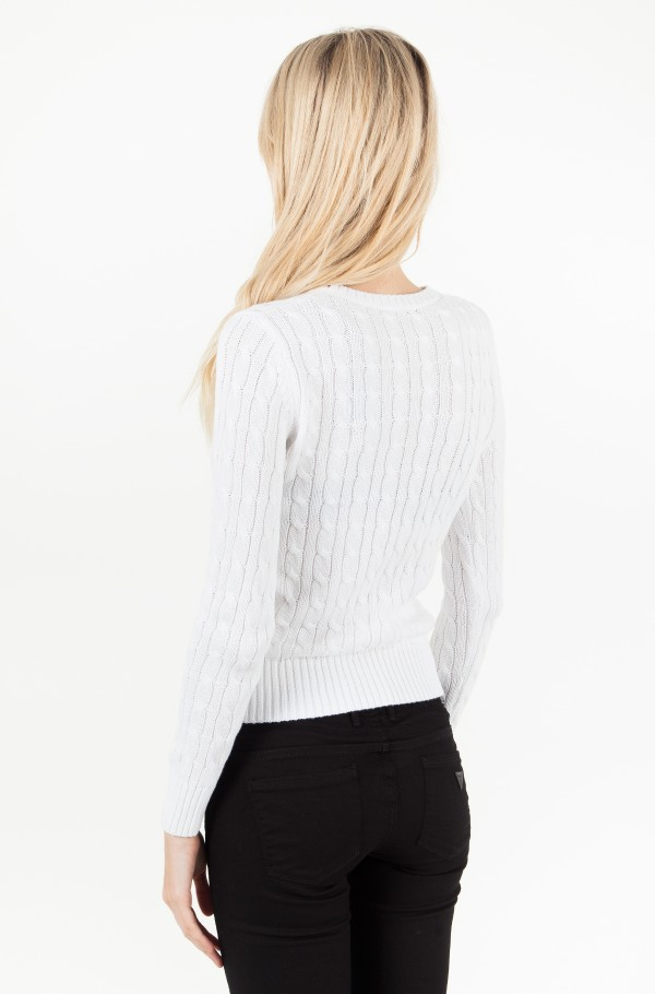 SABLE CN CABLE SWEATER LS-hover