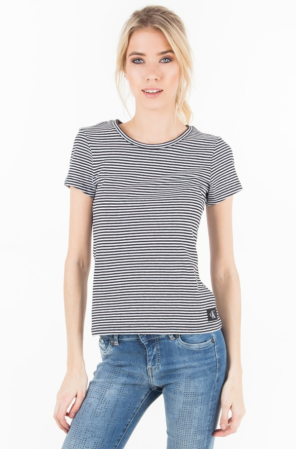 CORE TEE BASIC CN S/S STRIPE